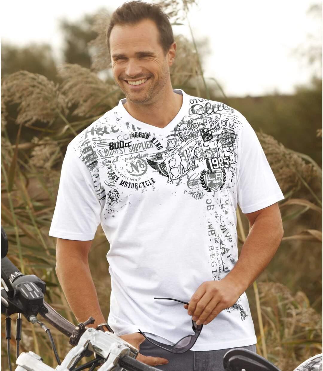 Set van 2 Biker T-shirts
