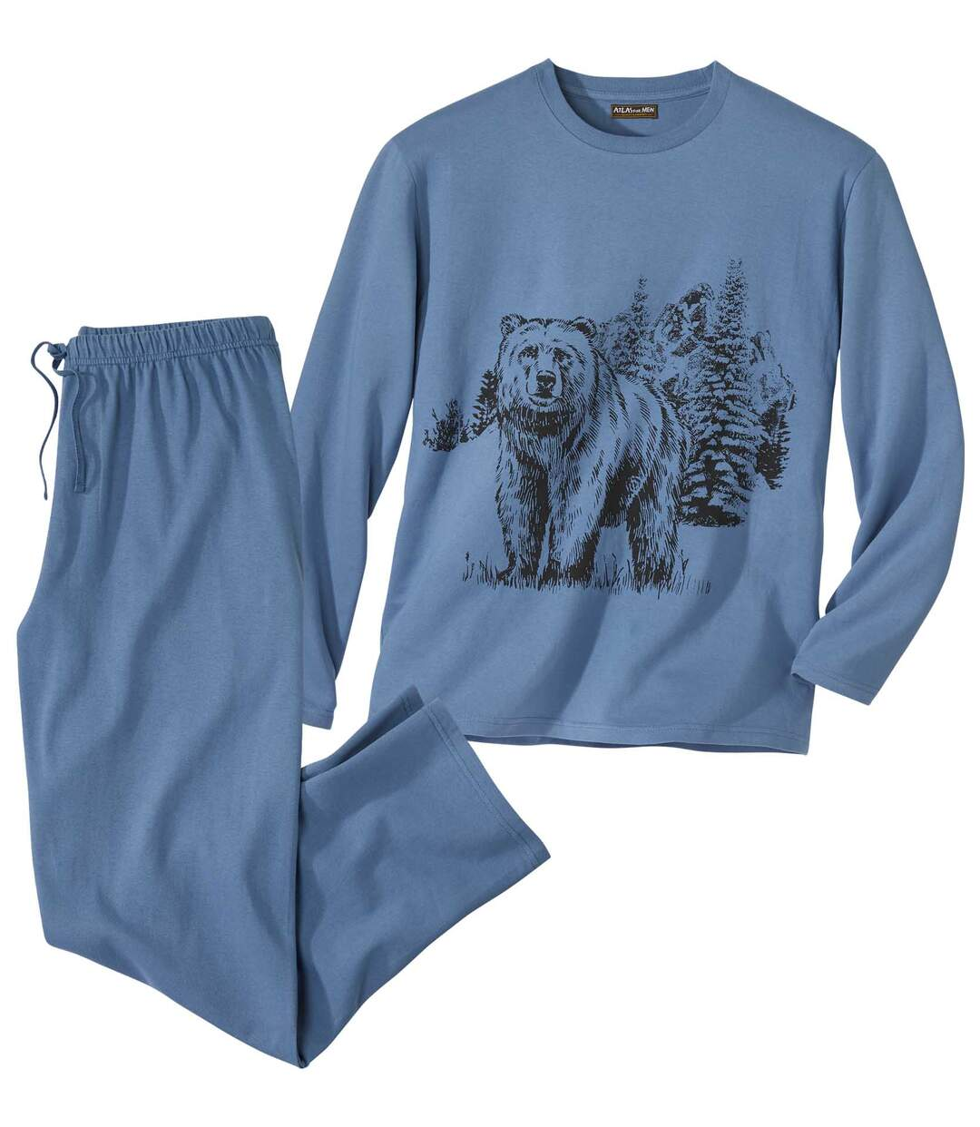 Katoenen pyjama Winter Bear