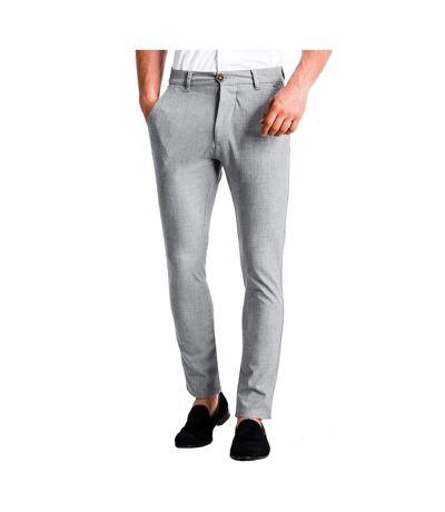 Pantalon chino pour homme Pantalon 832 gris clair
