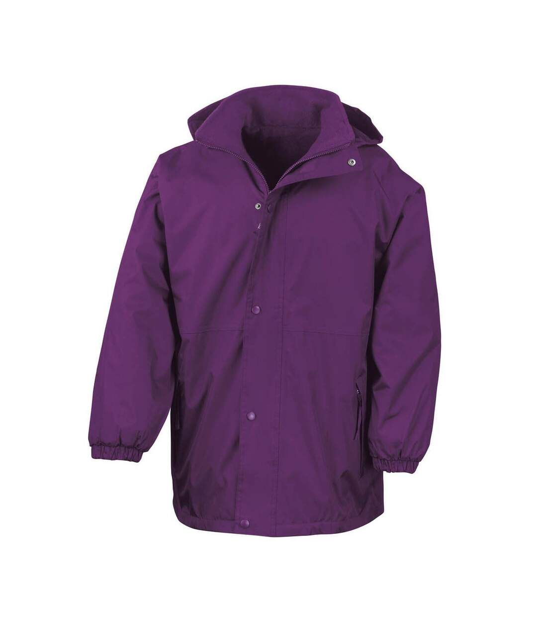 Result Mens Reversible StormDri 4,000 Waterproof Windproof Anti Pilling Fleece Jacket (Purple) - UTBC884