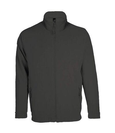 Veste micropolaire zippée homme - 00586 - gris anthracite
