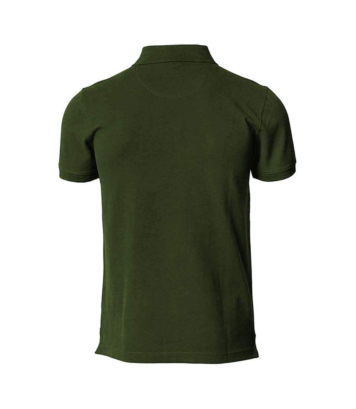 Nimbus Mens Harvard Stretch Deluxe Polo Shirt (Olive) - UTRW5148