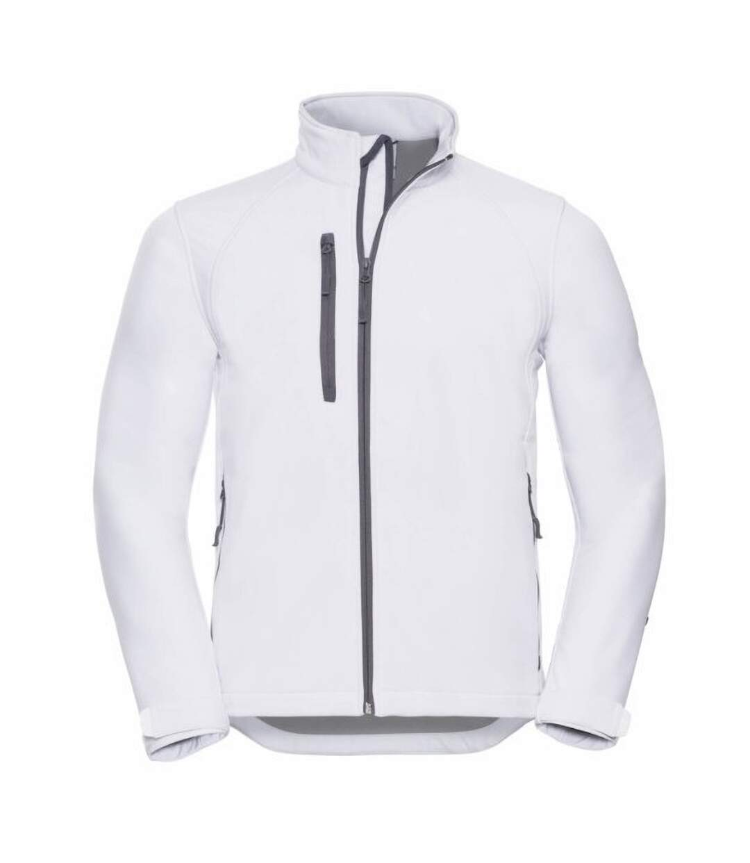 Russell Mens Water Resistant & Windproof Softshell Jacket (White) - UTBC562