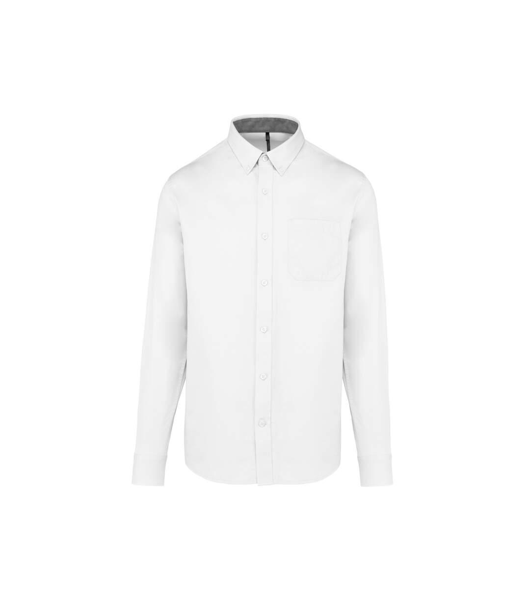 Kariban Mens Nevada Shirt (White) - UTRW7484
