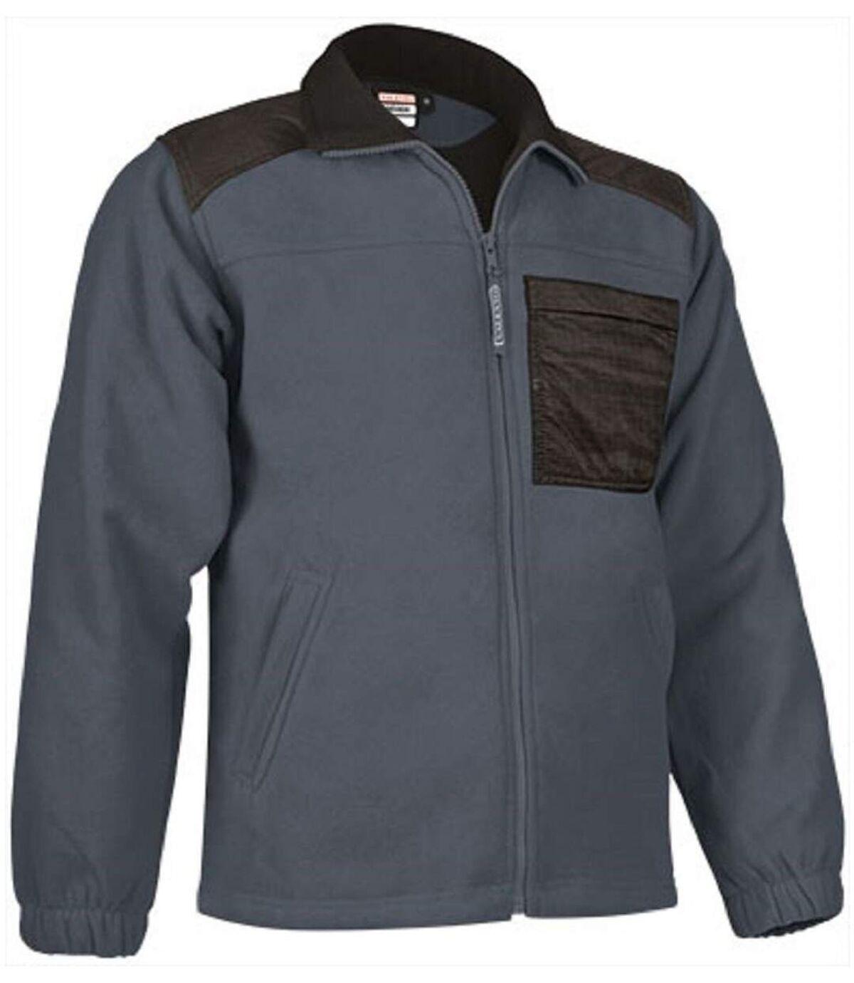 Veste polaire zippée - Homme - REF NEVADA - gris