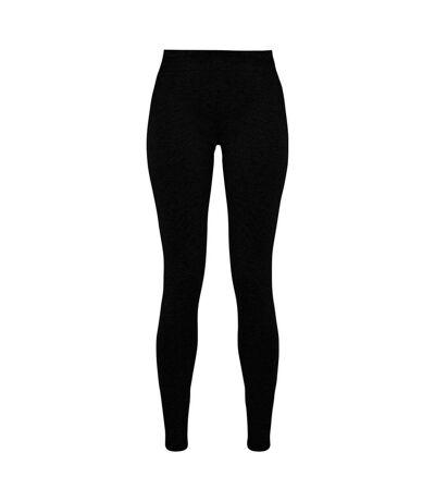 Build Your Brand Leggings extensibles en jersey pour femmes/femmes (Noir) - UTRW7718