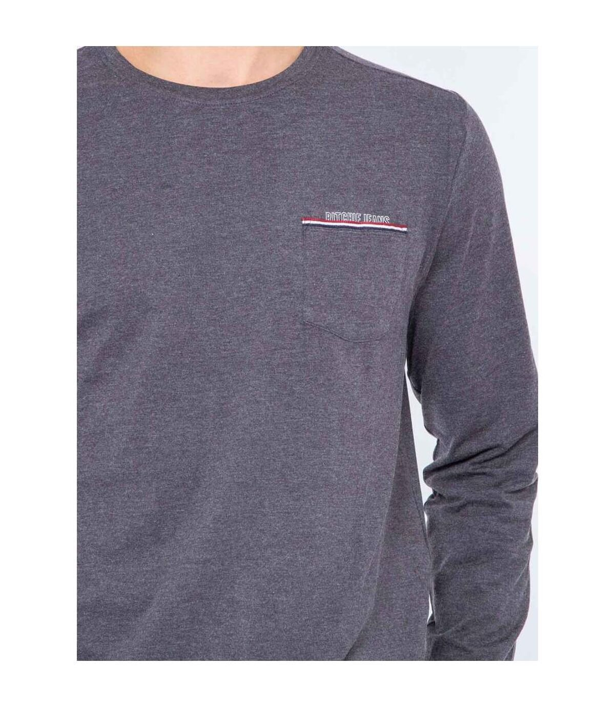 T-shirt manches longues col rond JALAGA - RITCHIE