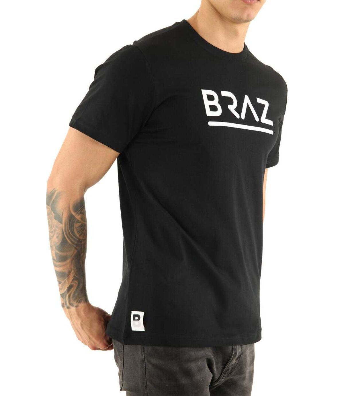 Tee shirt coton basique BR 213219  -  Braz - Homme