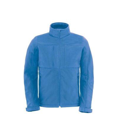 Veste softshell à capuche - hautes performances - JM950 - Bleu azur - Homme