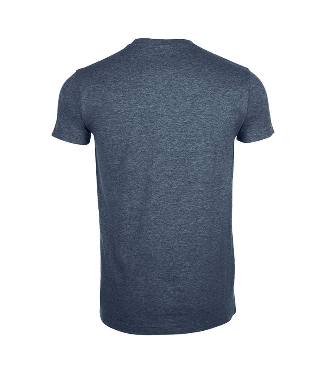 SOLS Mens Imperial Slim Fit Short Sleeve T-Shirt (White) - UTPC507