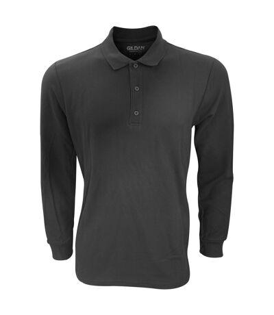 Gildan - Polo à manches longues - Homme (Noir) - UTRW4740