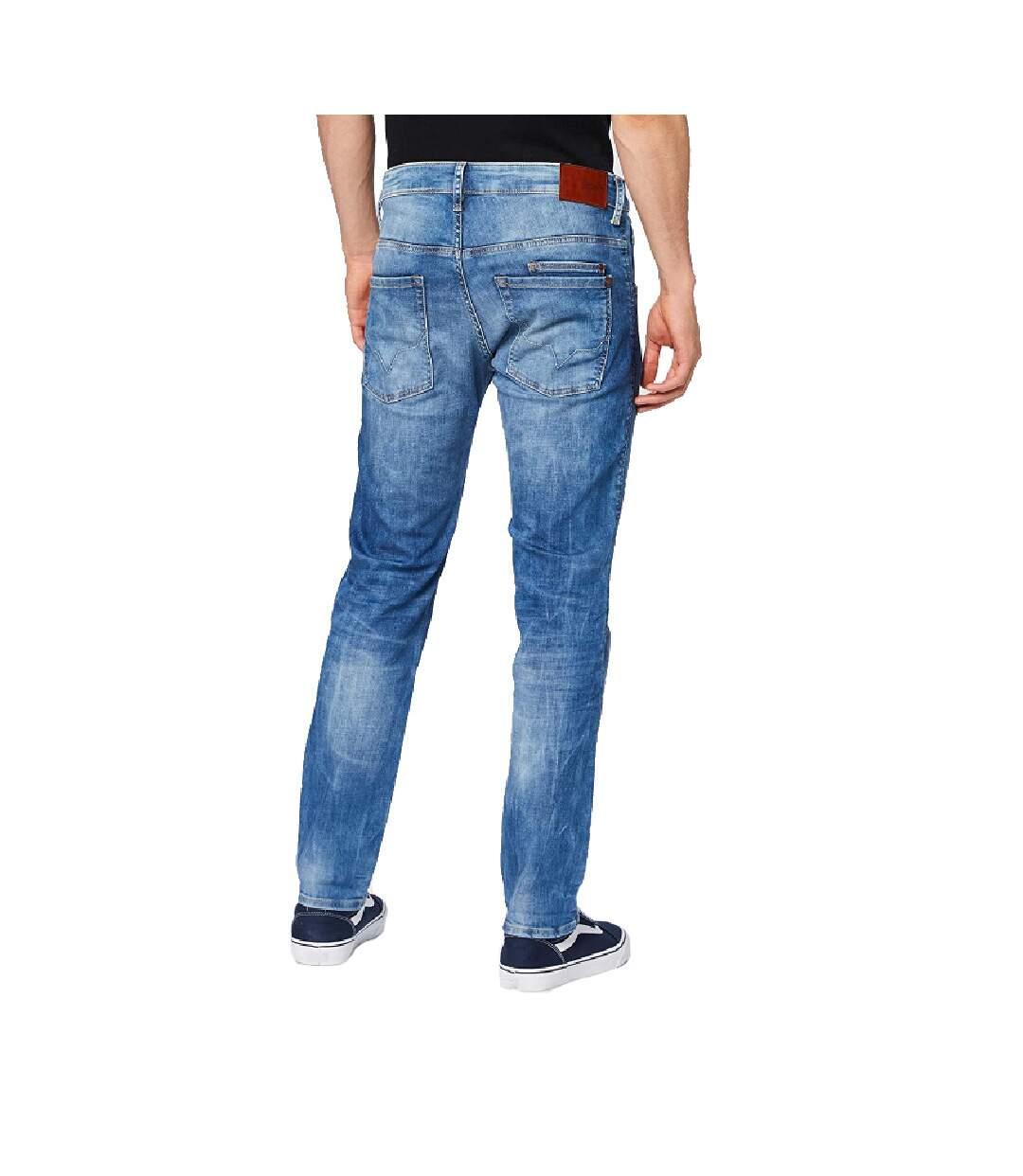 Jeans Regular Bleu Homme Pepe Jeans Spike