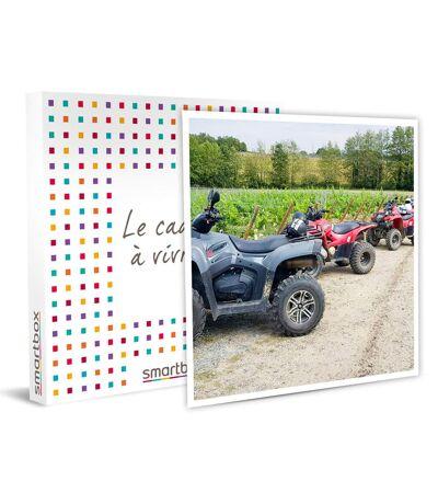 SMARTBOX - Randonnée en quad pour 2 dans un vignoble avec visite de la cave et dégustation de vin - Coffret Cadeau Sport & Aventure
