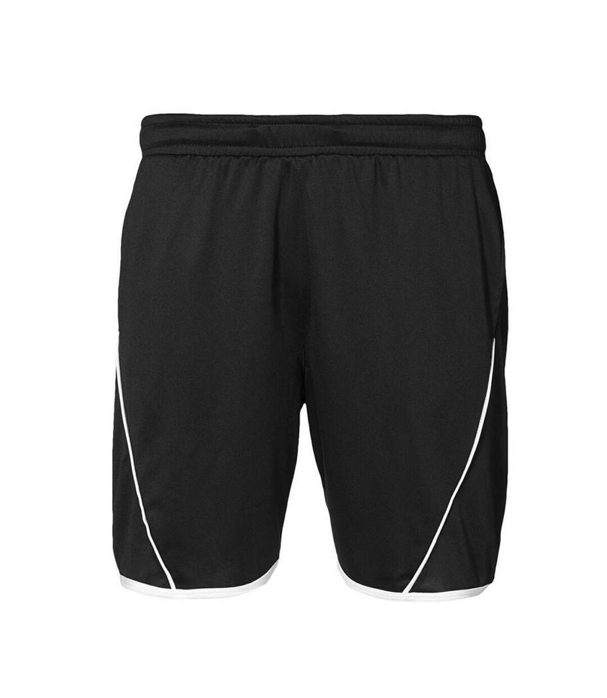 ID Mens Team Leisure Regular Fitting Sport Shorts (Black) - UTID362