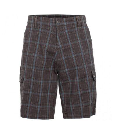 Trespass Mens Earwig Cargo Shorts (Peat Check) - UTTP4677