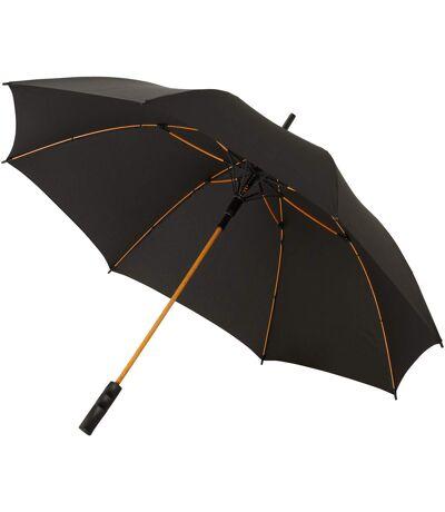 Avenue - Parapluie SPARK (Noir / orange) (Taille unique) - UTPF935