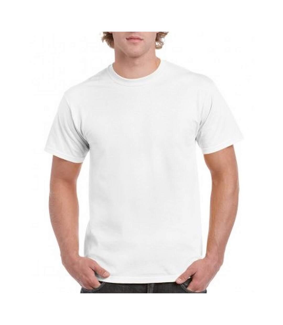 Gildan Mens Hammer Heavyweight T-Shirt (White) - UTPC3067