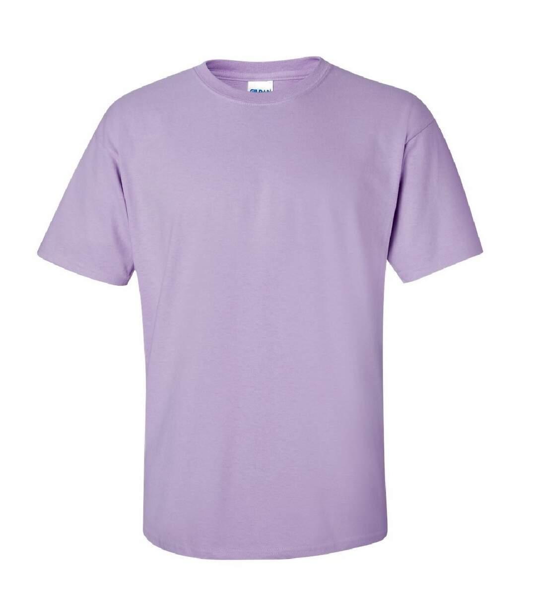 Gildan Mens Ultra Cotton Short Sleeve T-Shirt (Light Pink) - UTBC475