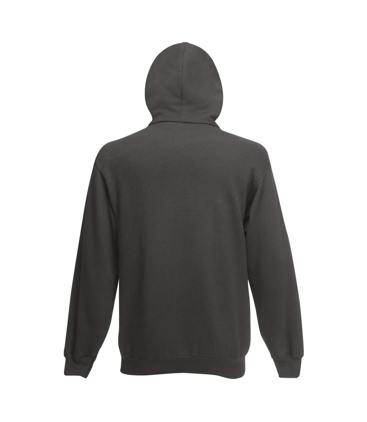 Fruit Of The Loom Mens Hooded Sweatshirt (Light Graphite) - UTBC1369