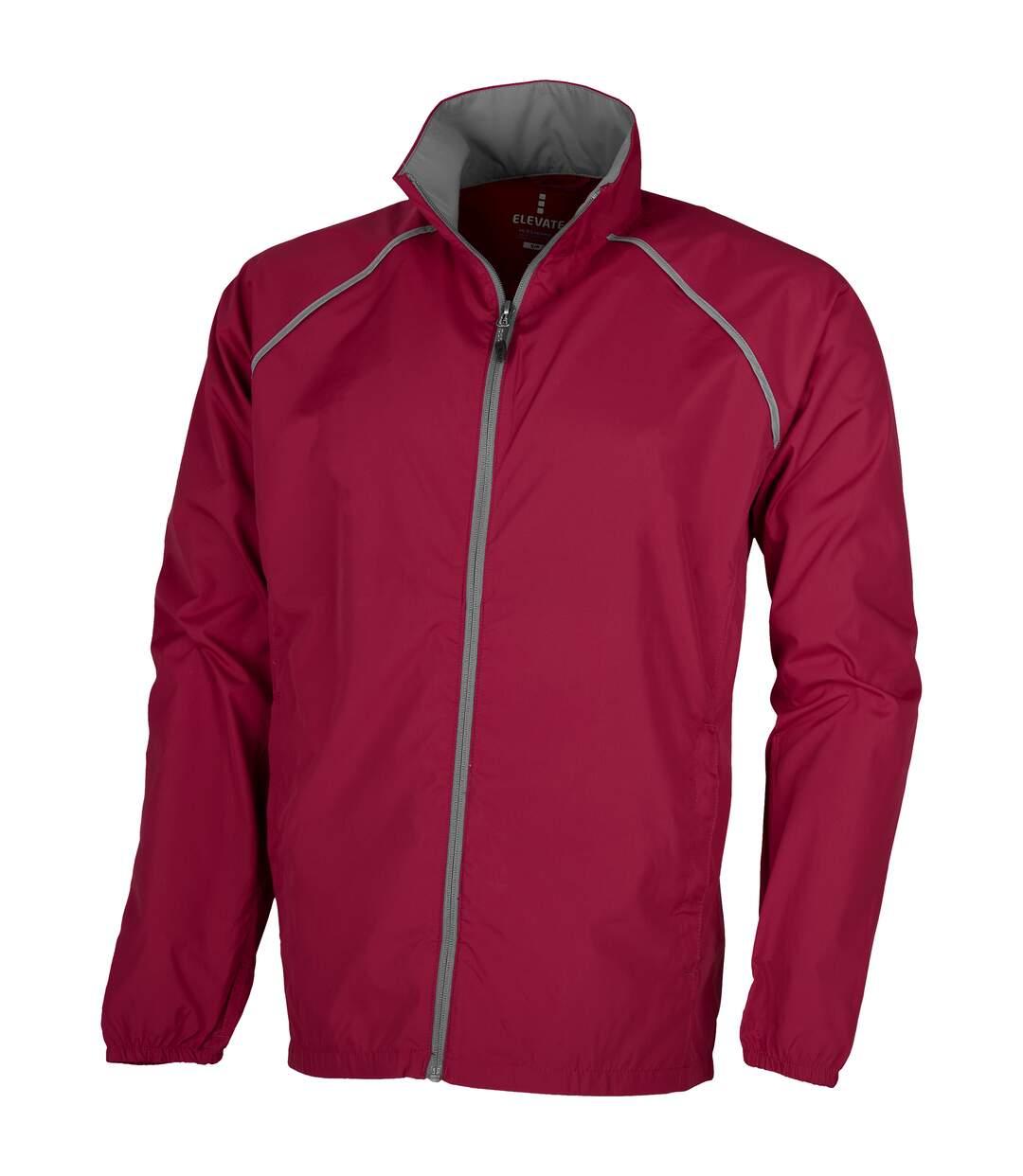 Elevate Mens Egmont Packable Jacket (Red) - UTPF1862