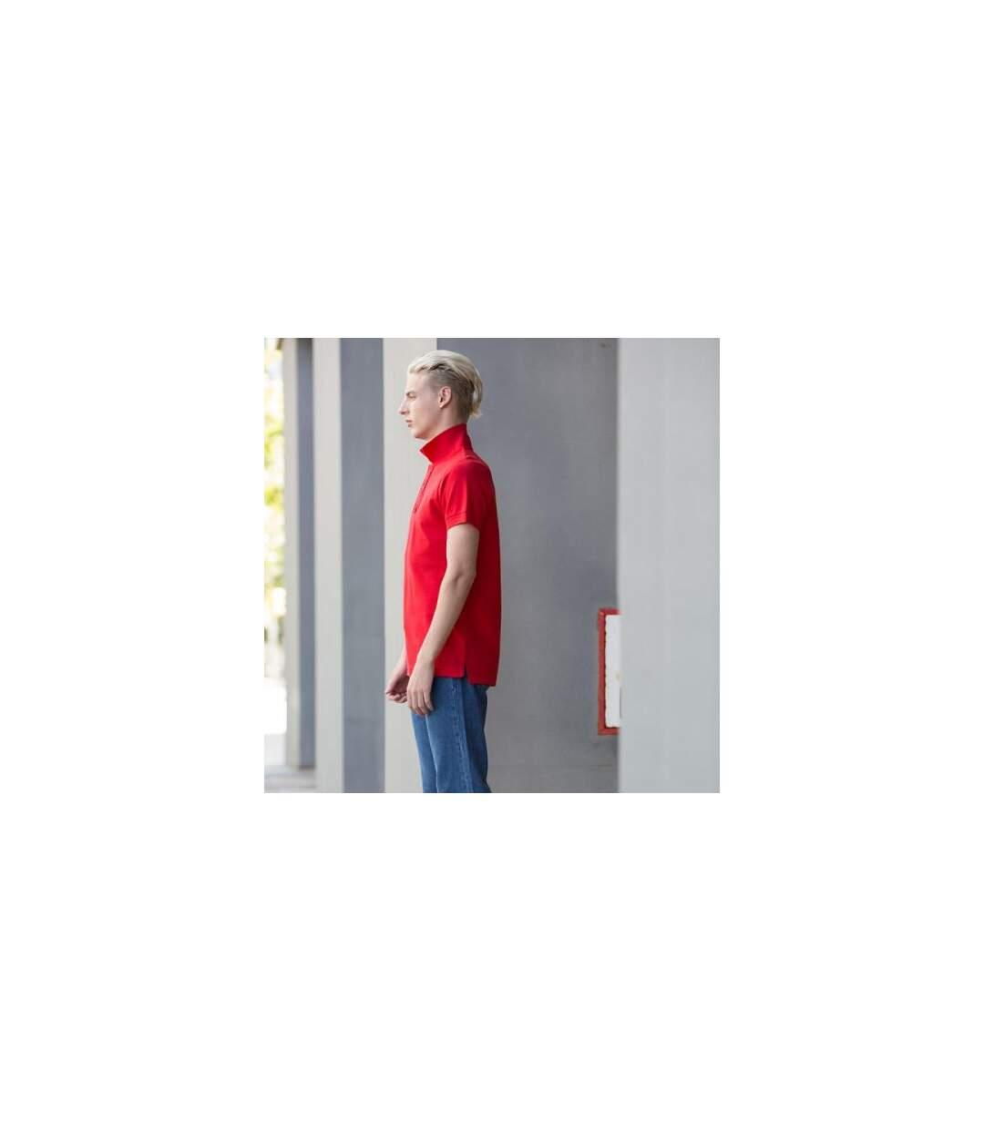 Skinni Fit - Polo À Manches Courtes - Homme (Rouge vif) - UTRW1400