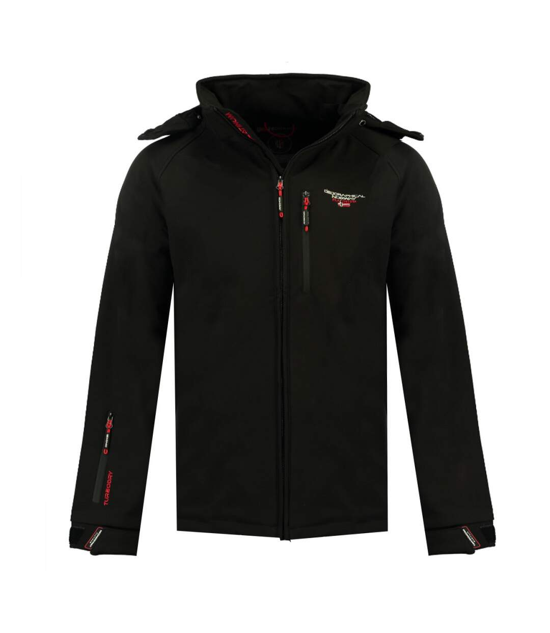 Veste Softshell Noir homme Geographical Norway Taboo