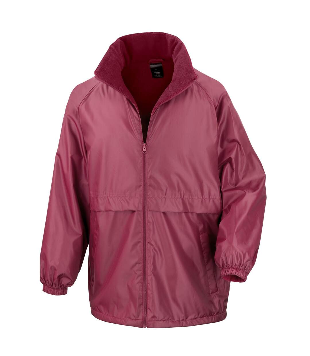 Result Mens Core Adult DWL Jacket (With Fold Away Hood) (Navy Blue) - UTBC896