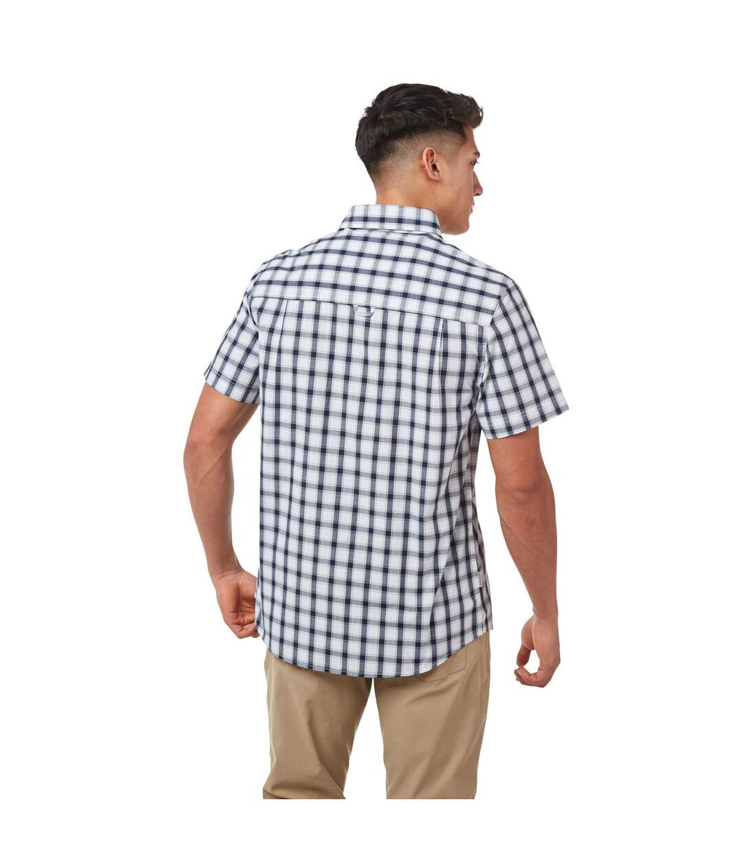 Craghoppers Mens Passos Short-Sleeved Shirt (Navy) - UTCG1484