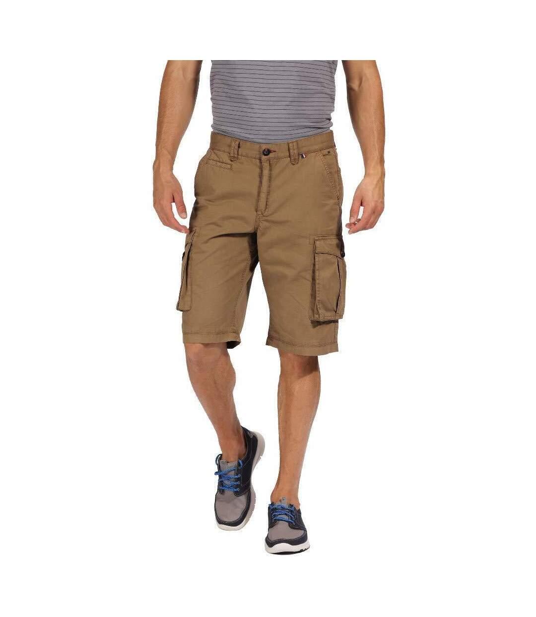 Regatta Mens Salvador II Vintage Look Shorts (Navy) - UTRG4166