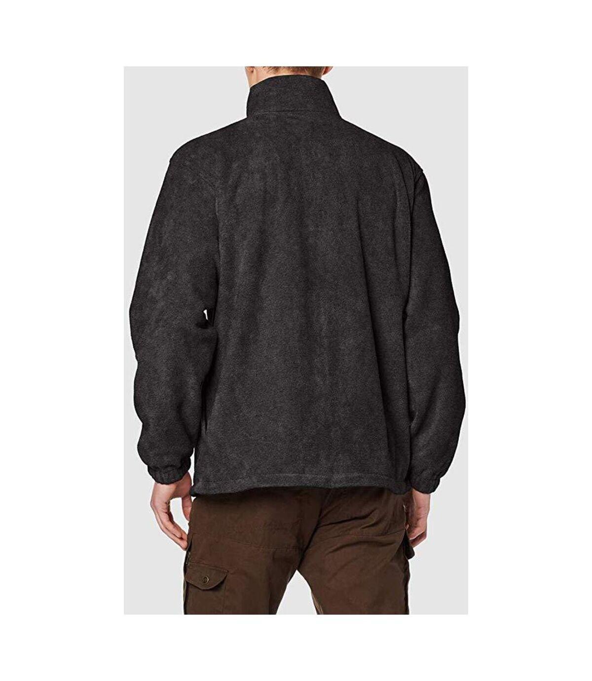 Result Mens Full Zip Active Fleece Anti Pilling Jacket (Black) - UTBC922