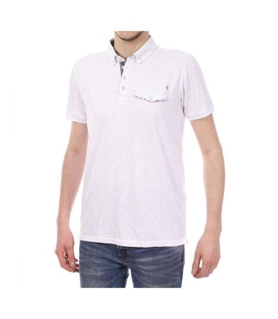 Polo Blanc Homme SunValley