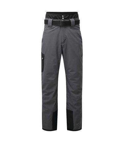 Dare 2B Mens Absolute II Ski Trousers (Ebony Grey/Black) (XL) - UTRG5466