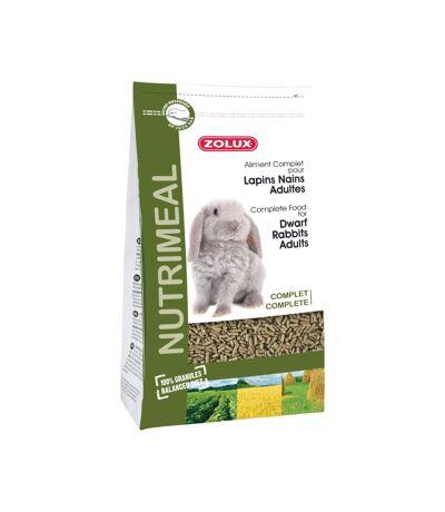 Granulés complets pour lapins nains adultes Nutrimeal 2.5 kg
