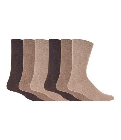 Mens 6 Pk Non Elastic Diabetic Socks