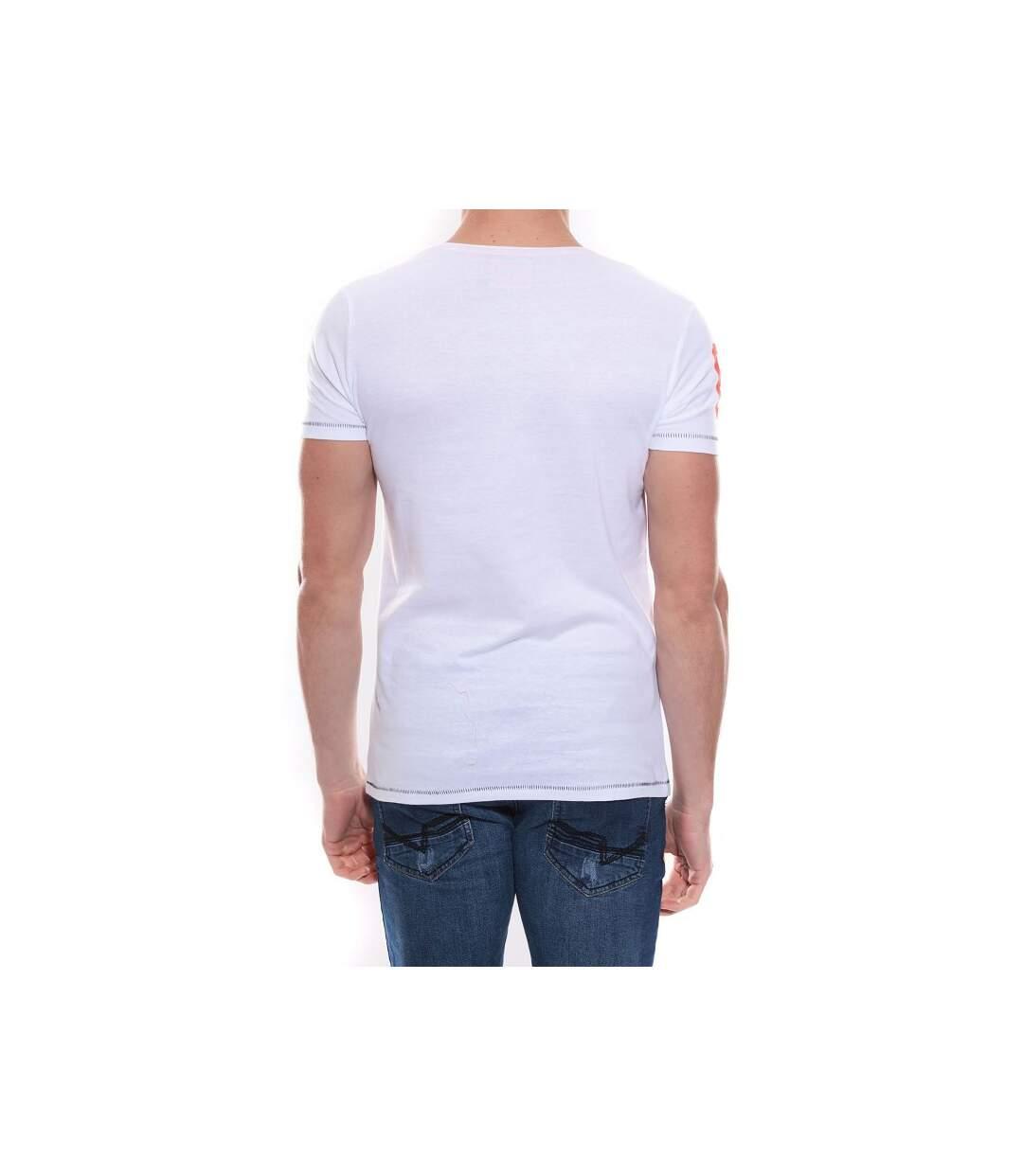 T-shirt col rond en coton NEWTON - RITCHIE