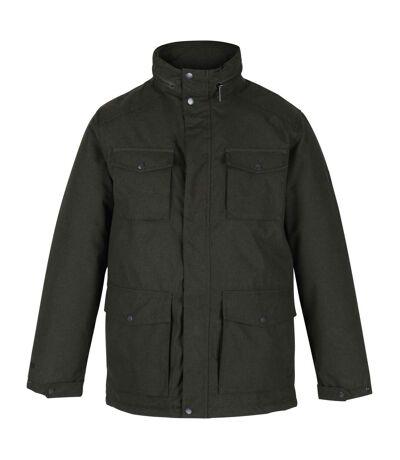 Regatta Mens Eneko Waterproof Insulated Jacket (Dark Khaki) - UTRG5572