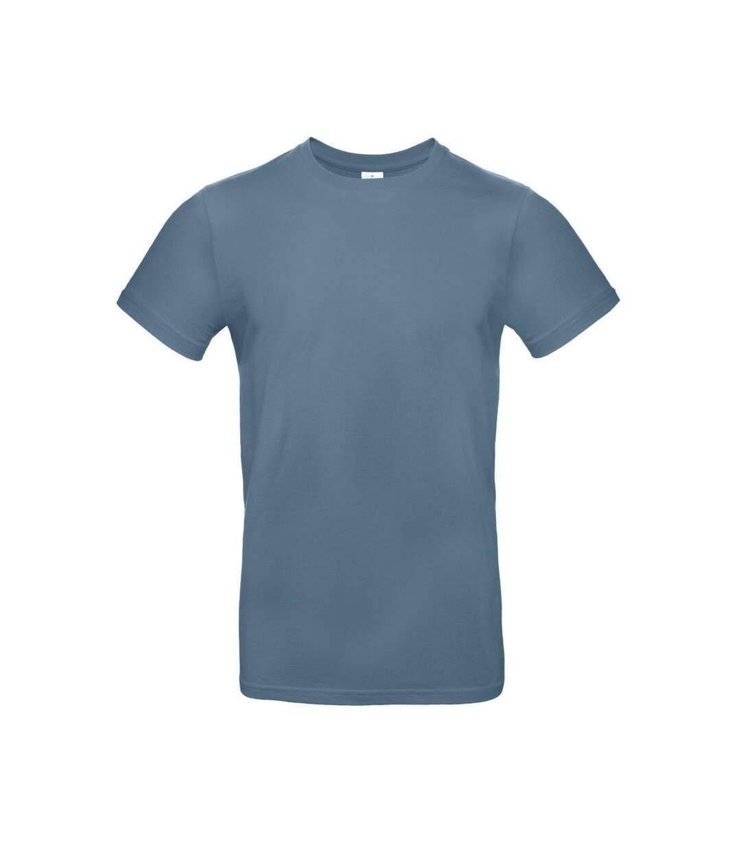 B&C Mens #E190 Tee (Stone Blue) - UTBC3911