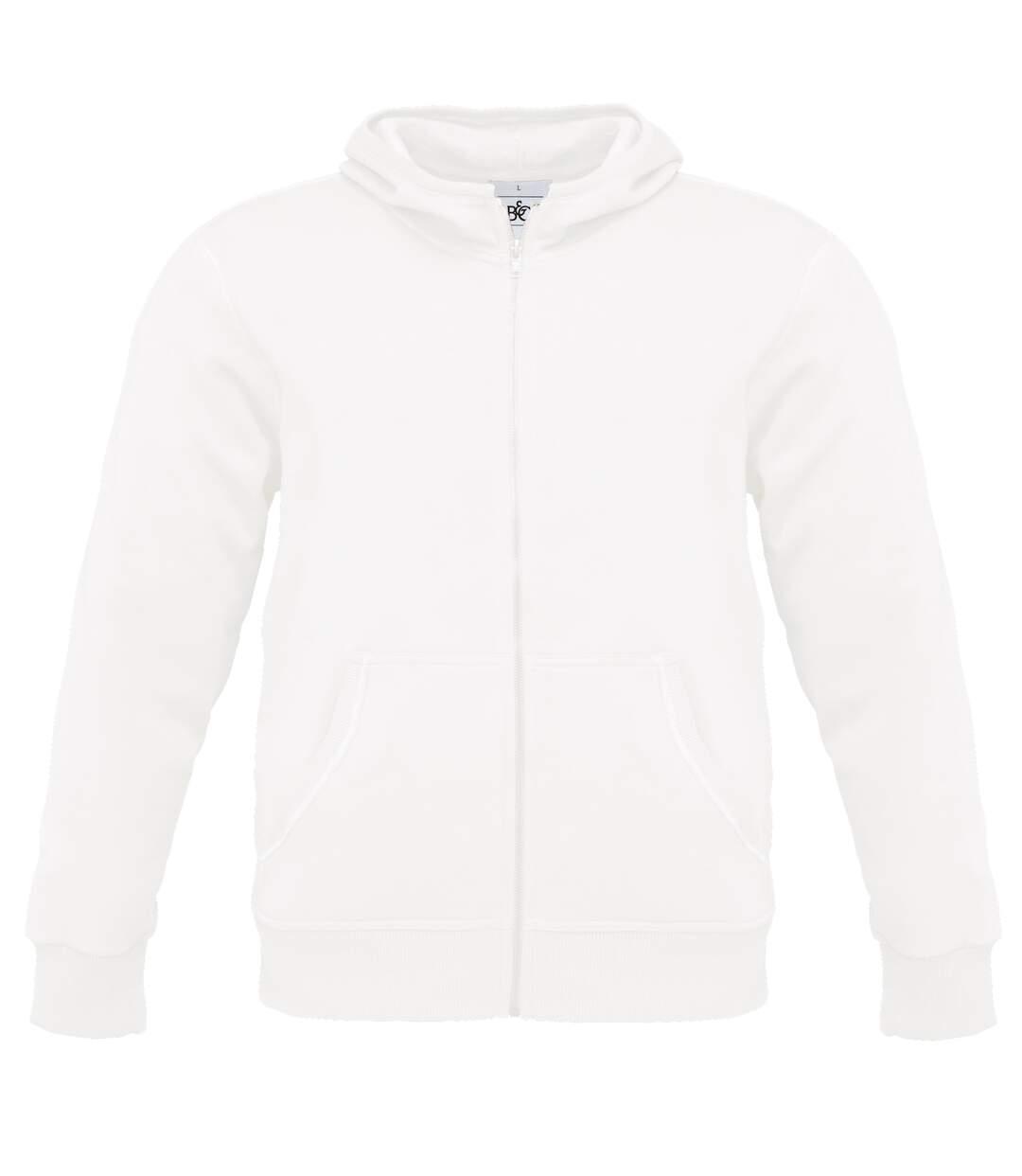 B&C Mens Monster Full Zip Hooded Sweatshirt / Hoodie (Red) - UTBC2012