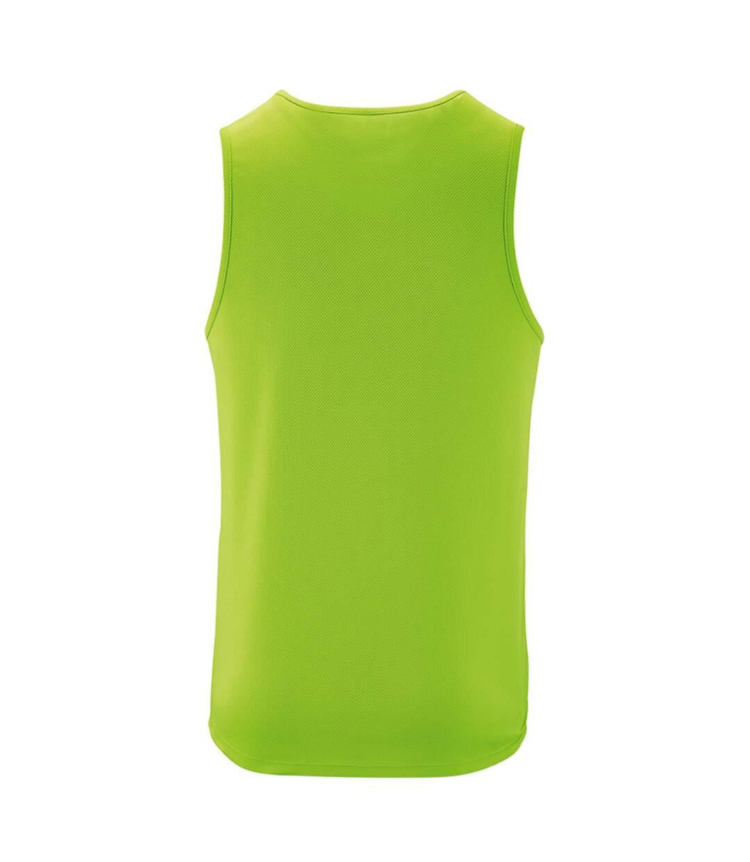 SOLS Mens Sporty Performance Tank Top (Neon Green) - UTPC2904