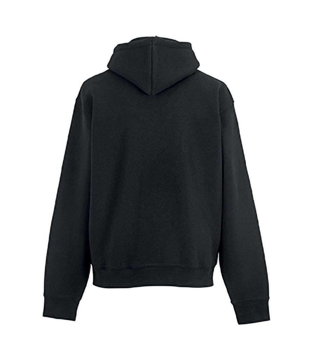 Russell Mens Authentic Hooded Sweatshirt / Hoodie (Black) - UTBC1498