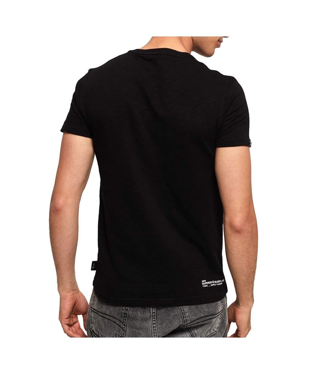 T-Shirt noir homme Superdry Surplus Goods Classic Graphic Tee