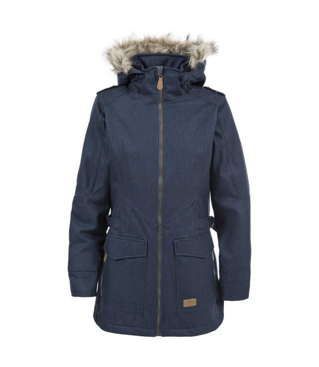 Trespass Womens/Ladies Everyday Waterproof Jacket (Navy) - UTTP4437