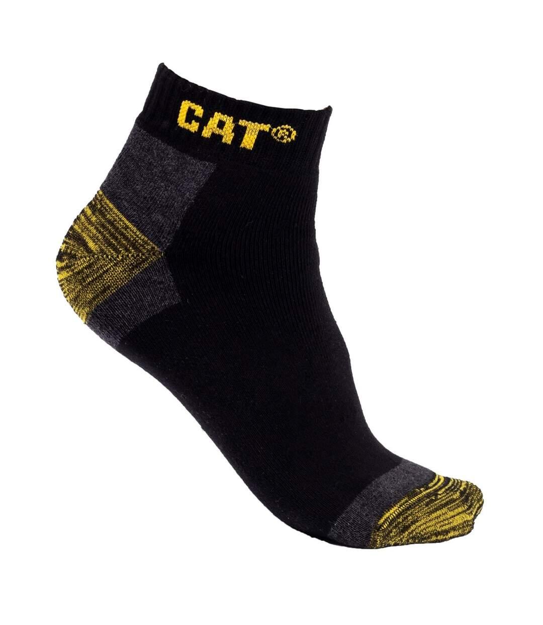 Caterpillar Unisex Adult Liner Socks (Pack of 3) (Black) - UTFS8029