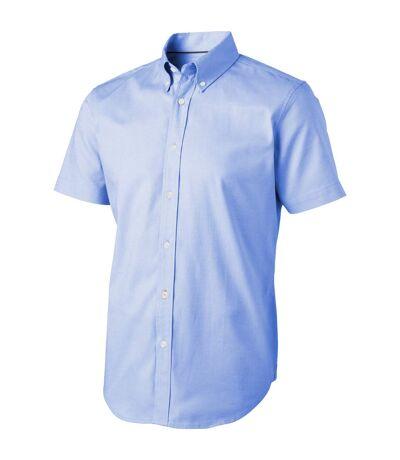 Elevate Manitoba Short Sleeve Shirt (Light Blue) - UTPF1833