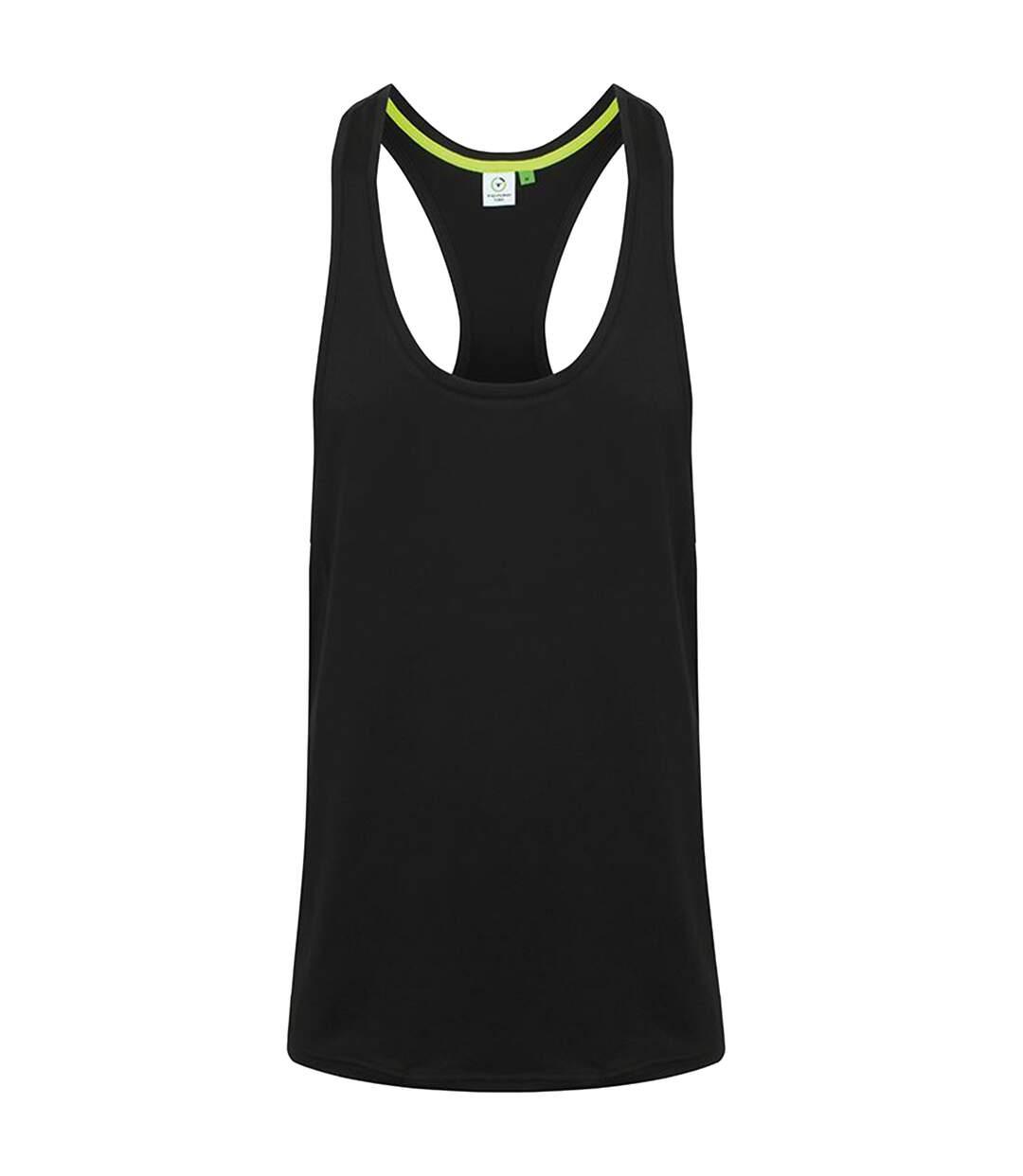 Tombo Mens Muscle Vest (Black) - UTRW5472