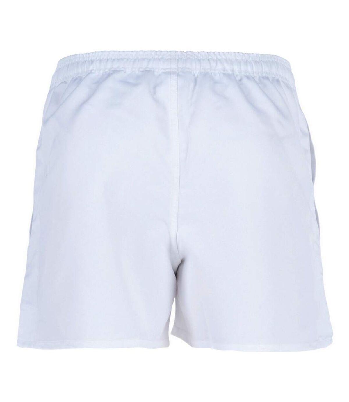 Canterbury Mens Professional Elasticated Sports Shorts (White) - UTPC2493