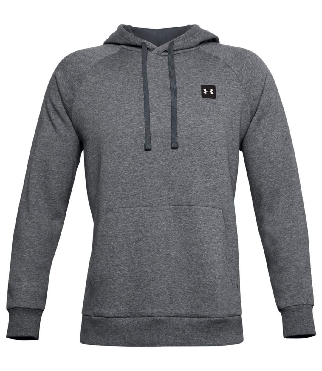 Sweat à capuche en molleton - Homme - UA002 - gris