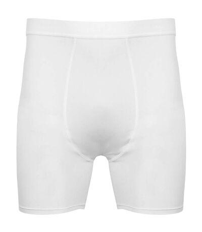 Tombo - Boxers - Homme (Blanc/Blanc) - UTRW5465