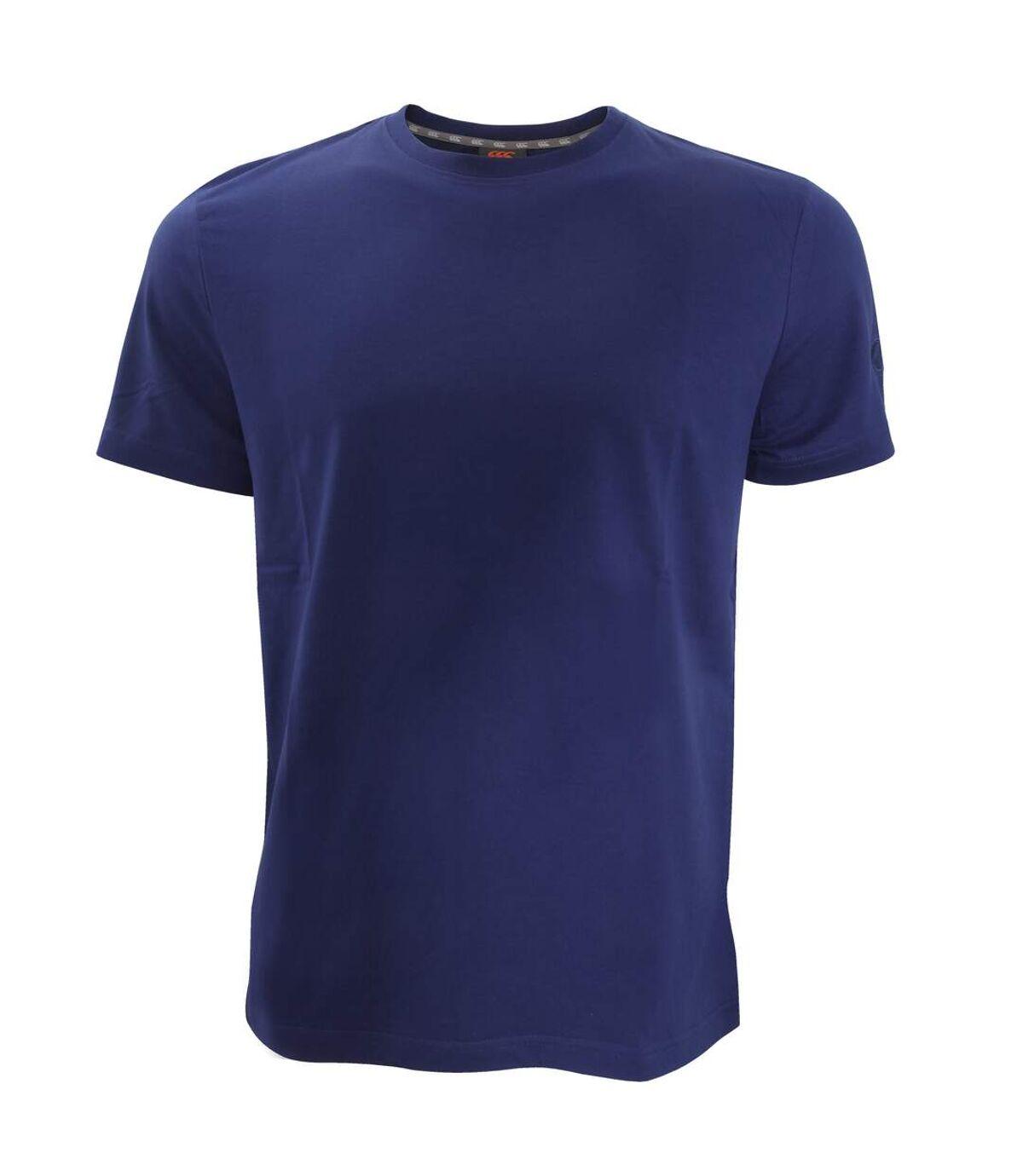 Canterbury Mens Team Plain Short Sleeve T-Shirt (Grey Marl) - UTPC2483
