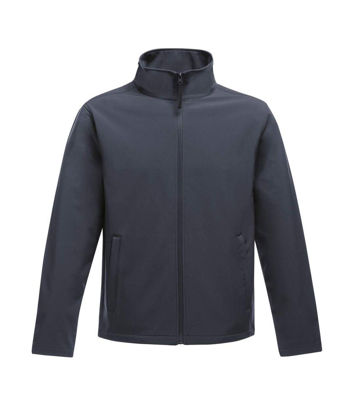 Regatta Standout Mens Ablaze Printable Softshell Jacket (Navy) - UTRW6353